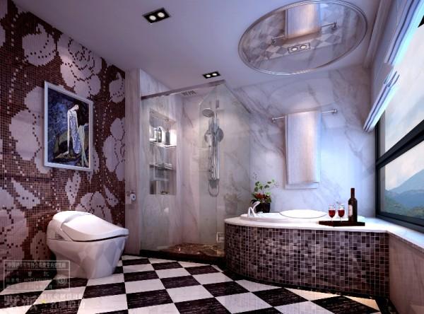 名雕墅派整装定制设计——南澳复式海景房——卫生间