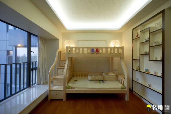 名雕装饰设计—天骄峰景私家豪宅—中式儿童房