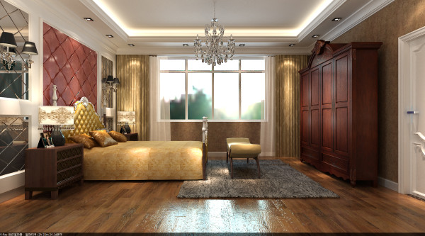 欧式风格强调以华丽的装饰、浓烈的色彩、精美的造型达到华贵的装饰效果。