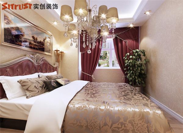 保利花园-168平米现代简约风格装修-卧室效果图