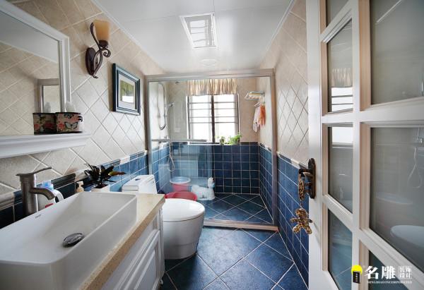 名雕装饰设计— 合生帝景苑—美式田园--浴缸