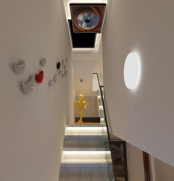 这是楼梯的设计,简约,雅致。