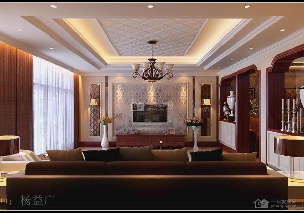 簡約歐式別墅客廳裝修效果圖片_裝修美圖-新浪裝修網