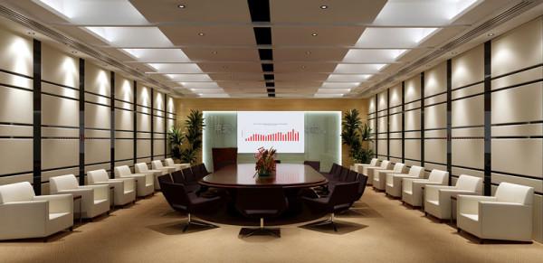 深圳西丽办公室楼会议室方案设计