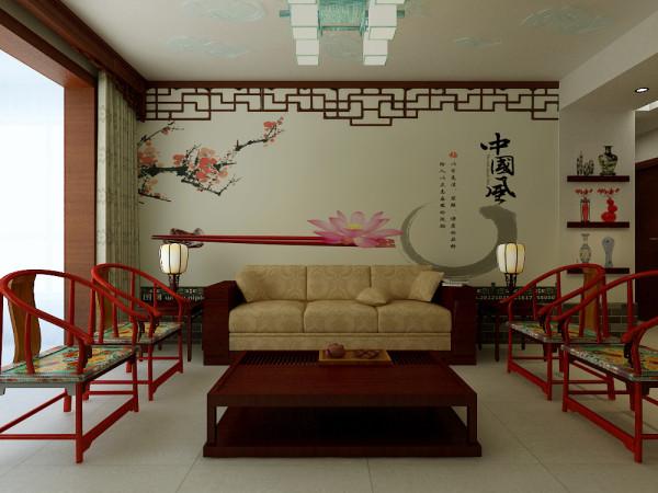 壁纸做沙发背景