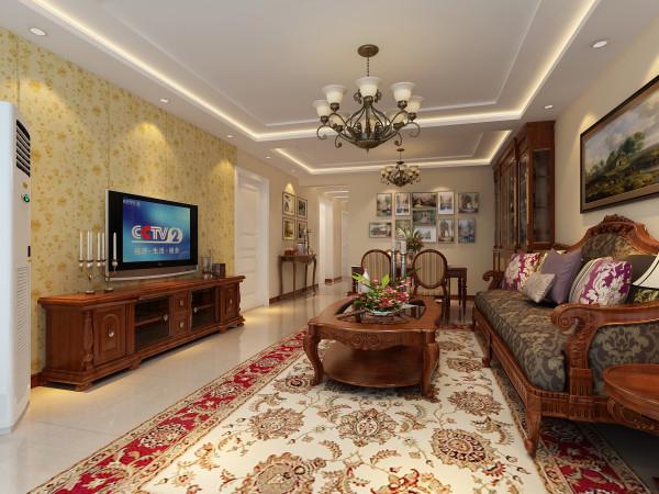 欧式新古典风格在造型方面的主要特点是:曲线趣味、色彩柔和绚丽、崇尚自然等。欧式新古典风格装饰与自然佩饰的完美结合,使整个居住空间弥漫着淡雅欧式的浪漫风情。