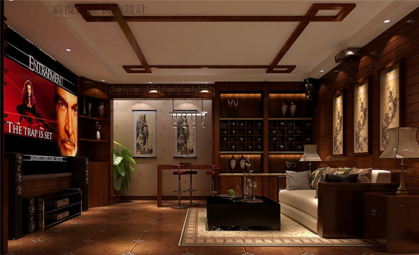 影音室,在家享受电影院般的感觉。