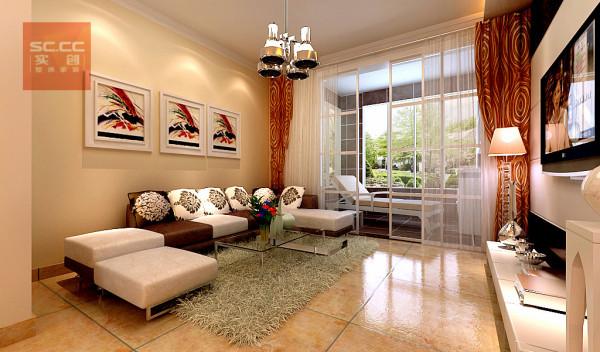名士豪庭91平简约风格装修设计