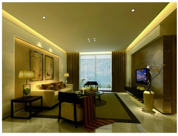 客厅电视背景墙采用木皮材质让整体空间层次变化更丰富,下方电器以及沙发区布满客厅科技充满放松休闲感,沙发背景墙硬包与大面积明镜的巧妙结合,有延展放大科技的视觉效果。