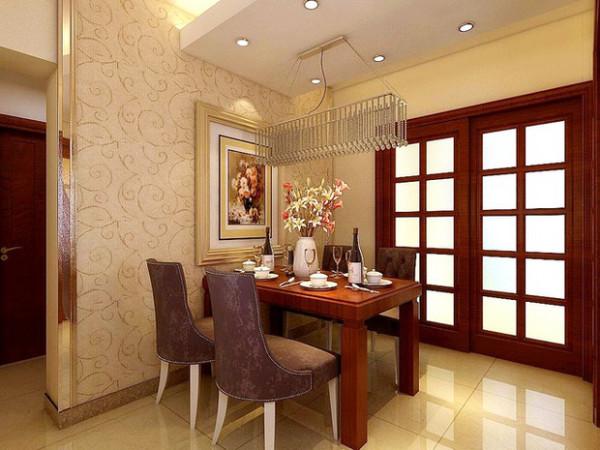 餐厅也很现代,只不过用的是木质餐桌,更加显得有档次,有品位