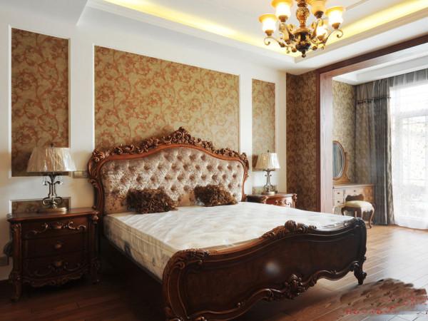 欧式 三居 卧室图片来自亚光亚装饰在想打造一套这样的欧式豪宅吗?