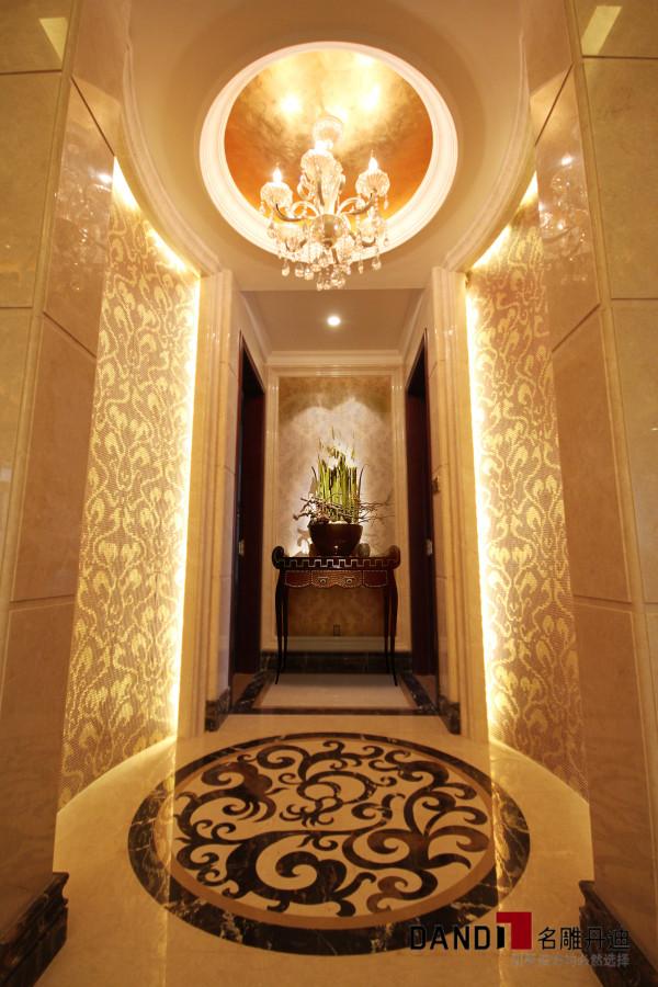 名雕丹迪设计—天湖郦都别墅—新古典—电梯间