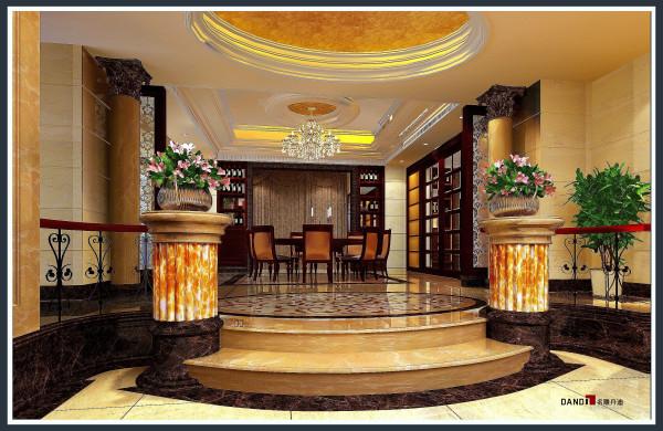 名雕丹迪别墅设计院——欧式风格——餐厅