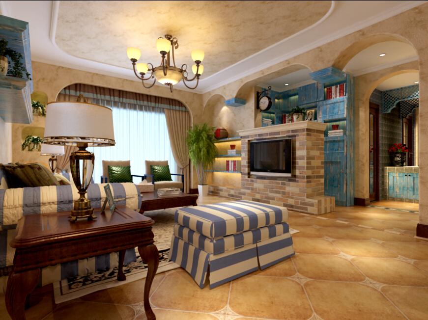 三居白领客厅装修效果图片 装修美图 新浪装修家居网看图装修