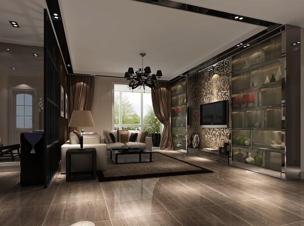 客厅,是体现整体风格最明显的区域,现代的沙发、现代的展示柜的装饰品等。主卧,变成了一个大套间有了别墅的品质,显得空间很通透、大气