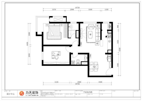 由于业主要求,厨房被改造为一个开放厨房,主卧室包含一个主卫生间,主卧室面积舒有一个飘窗,次卧室被改造成书房,客卫生间面试舒适。总体面积比较舒适,宽敞。
