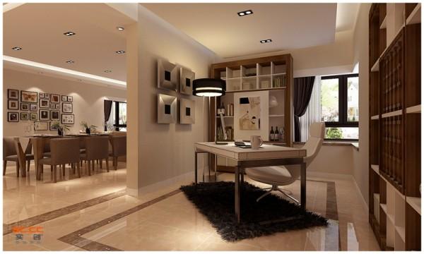 设计理念:当您的家居空间有限,没有多余的房间用作书房或家庭办公室时,每一个房间的角落都可以成为您考虑的对象。虽然角落的空间有限,但通过合理设计,一样能打造出功能齐全且舒适的办公区域