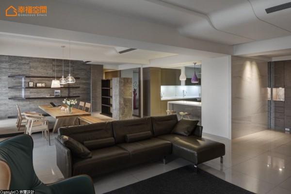 对环境细节与生活质量的重视,反应于家具的选择,包含精心选择的质感沙发、单椅及灯饰,以长期投资的心态,传达出另一种享受生活的新解。