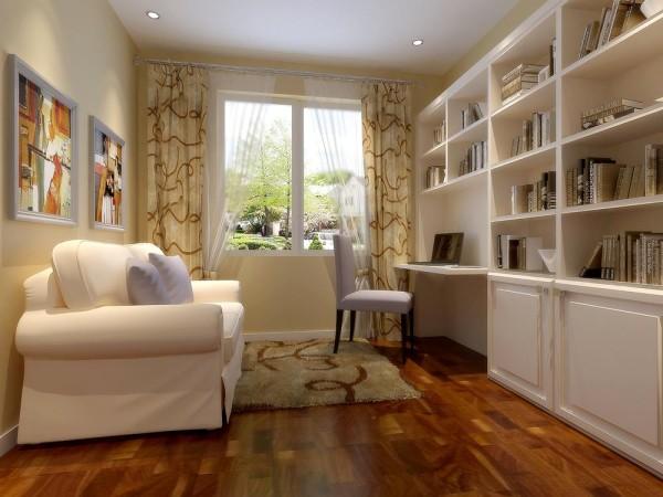 在视觉上过渡自然,而茶几下的地毯通过局部面块的色彩对比,使空间在和谐中追求一种变化。在灯光的运用上,以洁净大方的白色为主。顶灯闪烁美丽如星星,起点缀作用