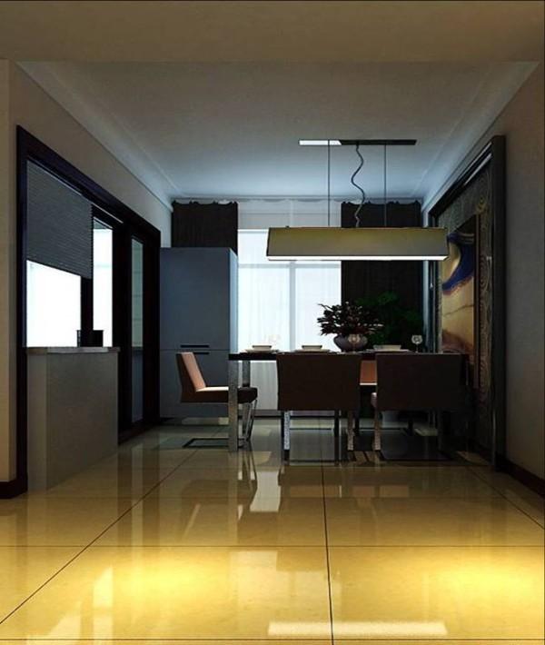 金林中心140平现代简约温馨贵气风格-餐厅效果图