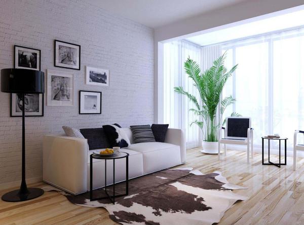 客厅 沙发背景墙设计理念:电视背景墙不用复杂的线条描述,也不用繁琐的拼花勾勒,简单的相片突出艺术气息
