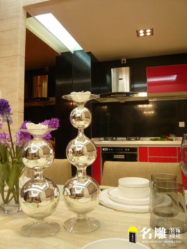名雕装饰设计——大朗德丰花园二居室——厨房