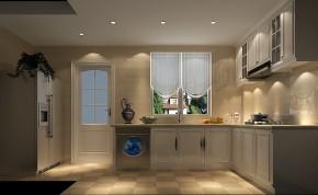 简约 欧式 高度国际 三居 白领 80后 白富美 高富帅 小清新 厨房图片来自北京高度国际装饰设计在鲁能七号院140平欧式公寓的分享