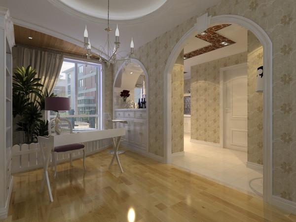 设计师将简洁、明快、创新、时代感的理念及其想法融入到客户思想当中,采用简易的石膏板镜面局部天花造形。