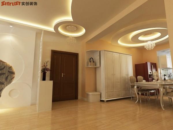 紫御府-123平G1户型装修设计-门厅效果图