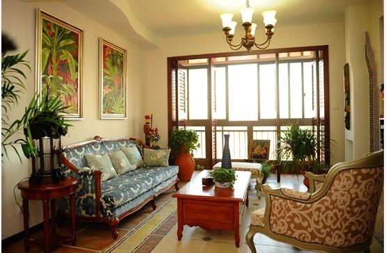 东南亚风格家具中以棕色、咖啡色为主,以实木、竹、藤、麻等材料打造空间,这些材质会使居室显得自然古朴,彷佛沐浴着阳光雨露般舒畅,家就是我们放松身心的所在。