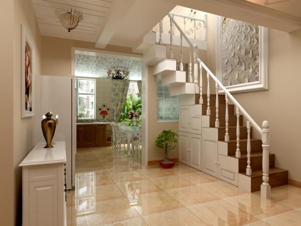 国仕山236平米跃层美式风格装修案例