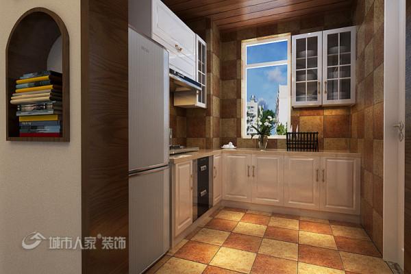 90平米地中海风格装修品鉴-厨房
