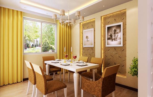 餐厅:现在的餐厅区域,占用了原来的一间卧室区域,将厨房门做了改动,使用起来更加方便,改造成如今方便使用且整体的就餐待客空间。