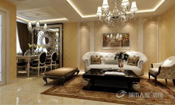 85平米的小户型欧式风格品鉴-客厅
