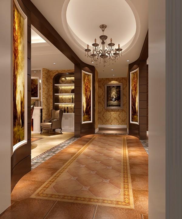 上林世家 美式简约 高度国际 欧式 别墅 玄关图片来自凌军在9w打造