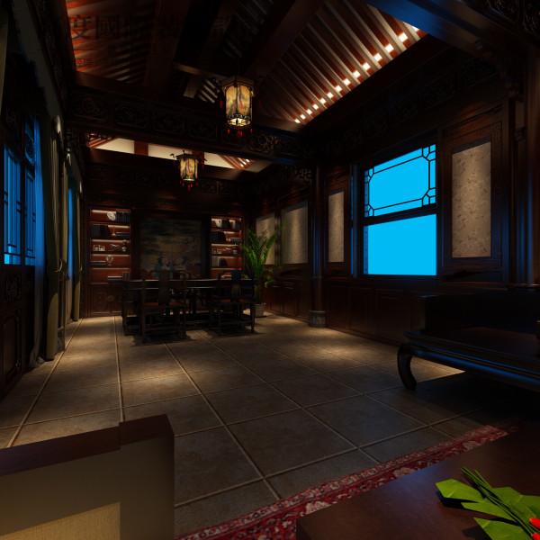 质朴的乡村与沉稳的中式完美结合,让家的氛围更为舒适。