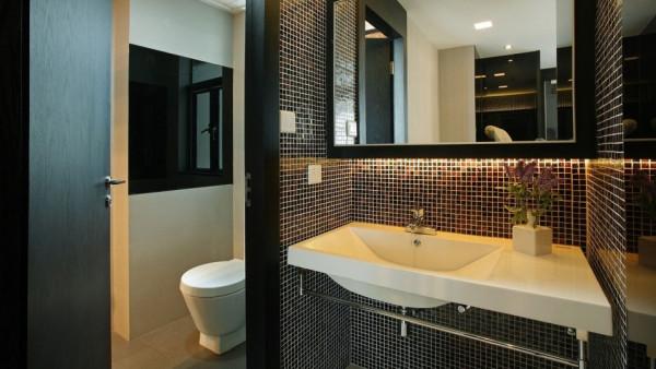 巧 妙的灯光设计、精美的墙纸装饰、时尚的家居摆设,各种极其个性的色彩及元素的搭配 ,创造出的却是和谐、统一的装饰效果。