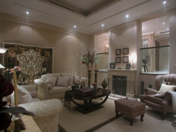 古典跃居设计温馨的家