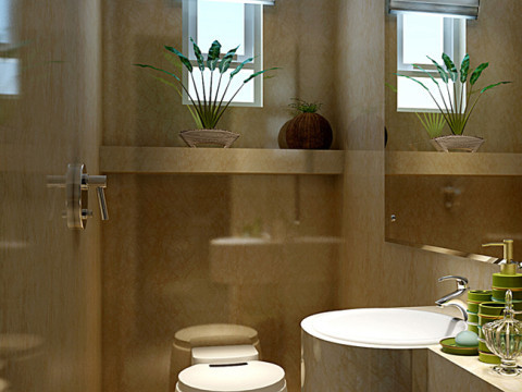 卫生间的瓷砖选择上有内涵呀