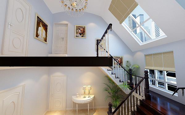 简约 欧式 别墅 白领 收纳 80后 楼梯图片来自实创装饰百灵在北京新