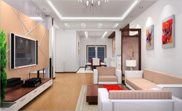 私密性很强的空间,一般设于餐厅旁,并有电视机,同时沙发和座椅选择轻松明快的式样,室内绿化也较为丰富,装饰画较多。作为待客区域,一般要求简洁明快,同时装修较其它空间要更明快光鲜。