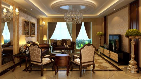 房屋主要设计点在餐厅和客 厅上