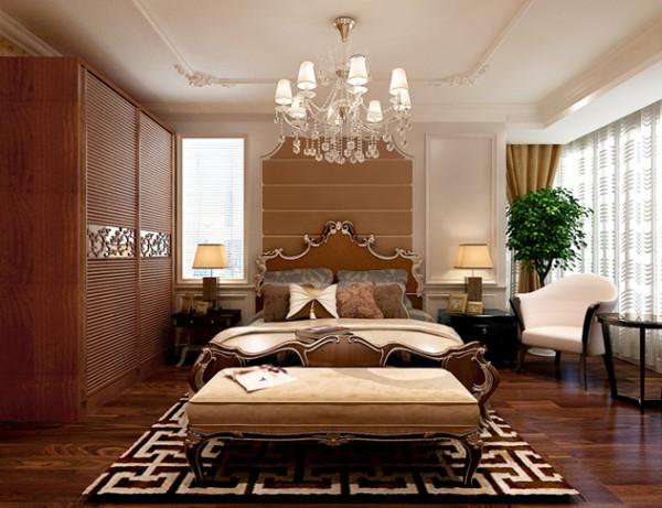 石家庄业之峰装饰-裕华区万达小区浅欧奢华108平米三居室