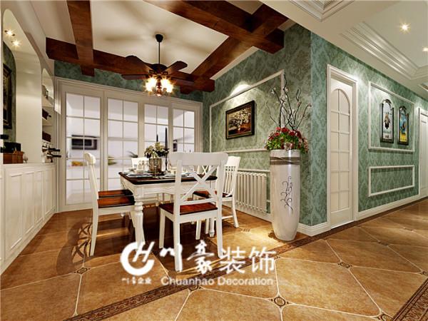 美式风格 川豪装饰 家庭装修 川豪装饰、合肥一线品牌装修公司
