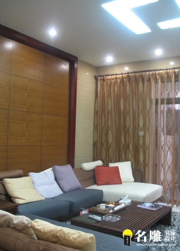 江南雅筑140平现代简约休闲家居客厅沙发:舒适时尚的家私定制