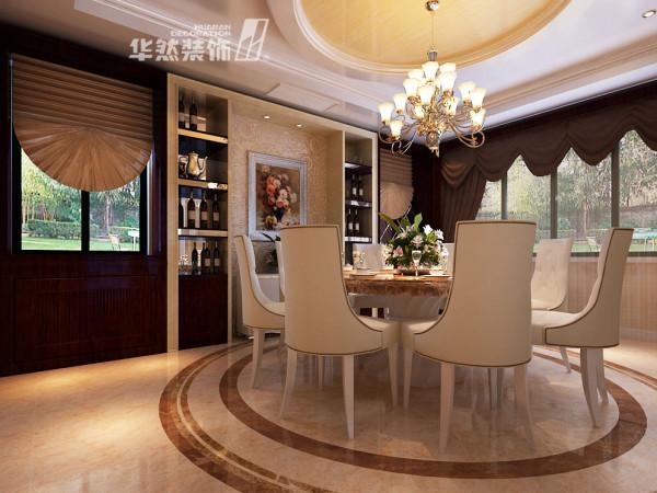 棠溪人家-餐厅装修效果-华然装饰