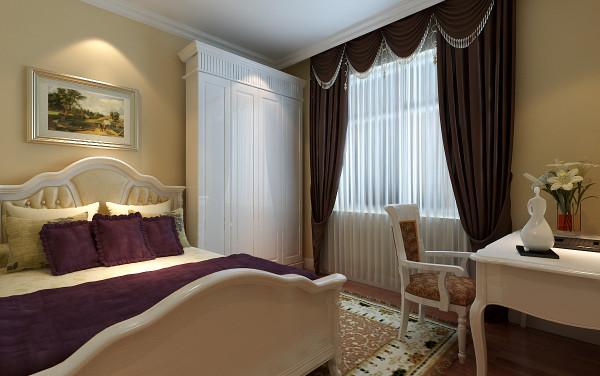 【成都实创装饰】110平米 新中式风格 三居 装修参考—整体家装—卧室装修效果图
