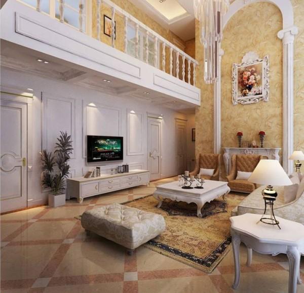 设计说明:本案室内宽敞明亮,统一的木色地板与实木家具搭配,对应且协调、质朴而有形,瓷器、字画、格栅的摆设有层次、有韵味、有休养、更有艺韵魅力。