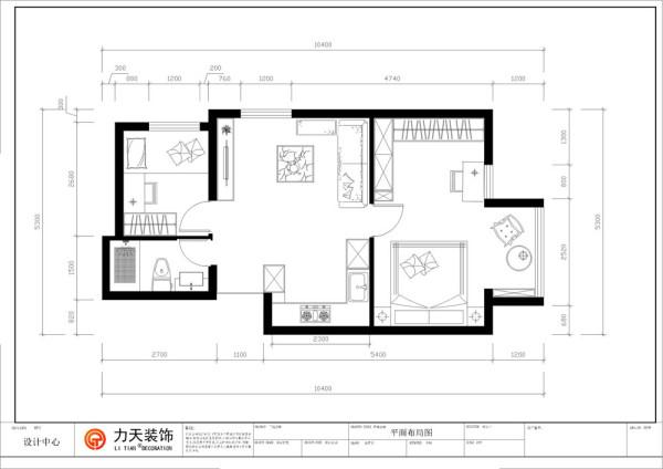 本户型为名门广场2室1厅1厨1卫 68平米。从片面效果图来看,以顺时针方向来看,进入入户门,左手为卫生间区域,往里走是次卧位置,往前走是客厅区域