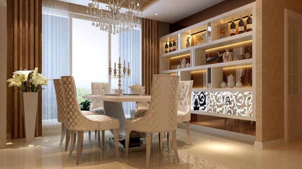 欧式的居室有的不只是豪华大气,更多的是惬意和浪漫。